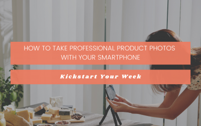 How to Take Professional Product Photos With Your Smartphone